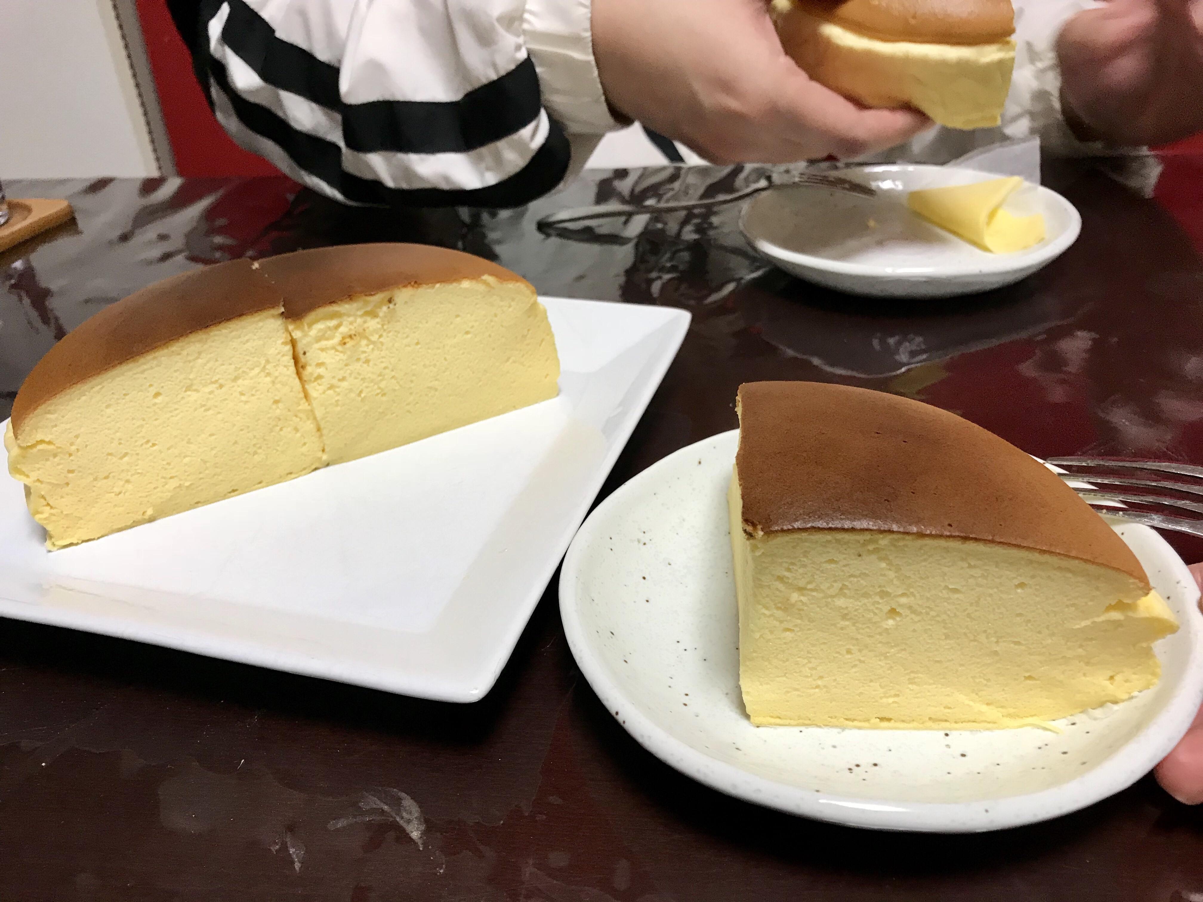 くろ ー ケーキ り おじさん チーズ